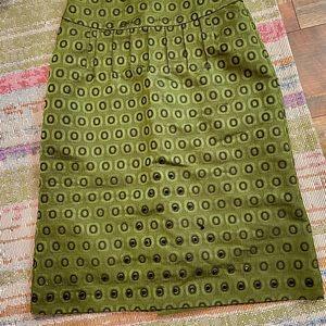 Felicia Green Pencil Skirt size 6